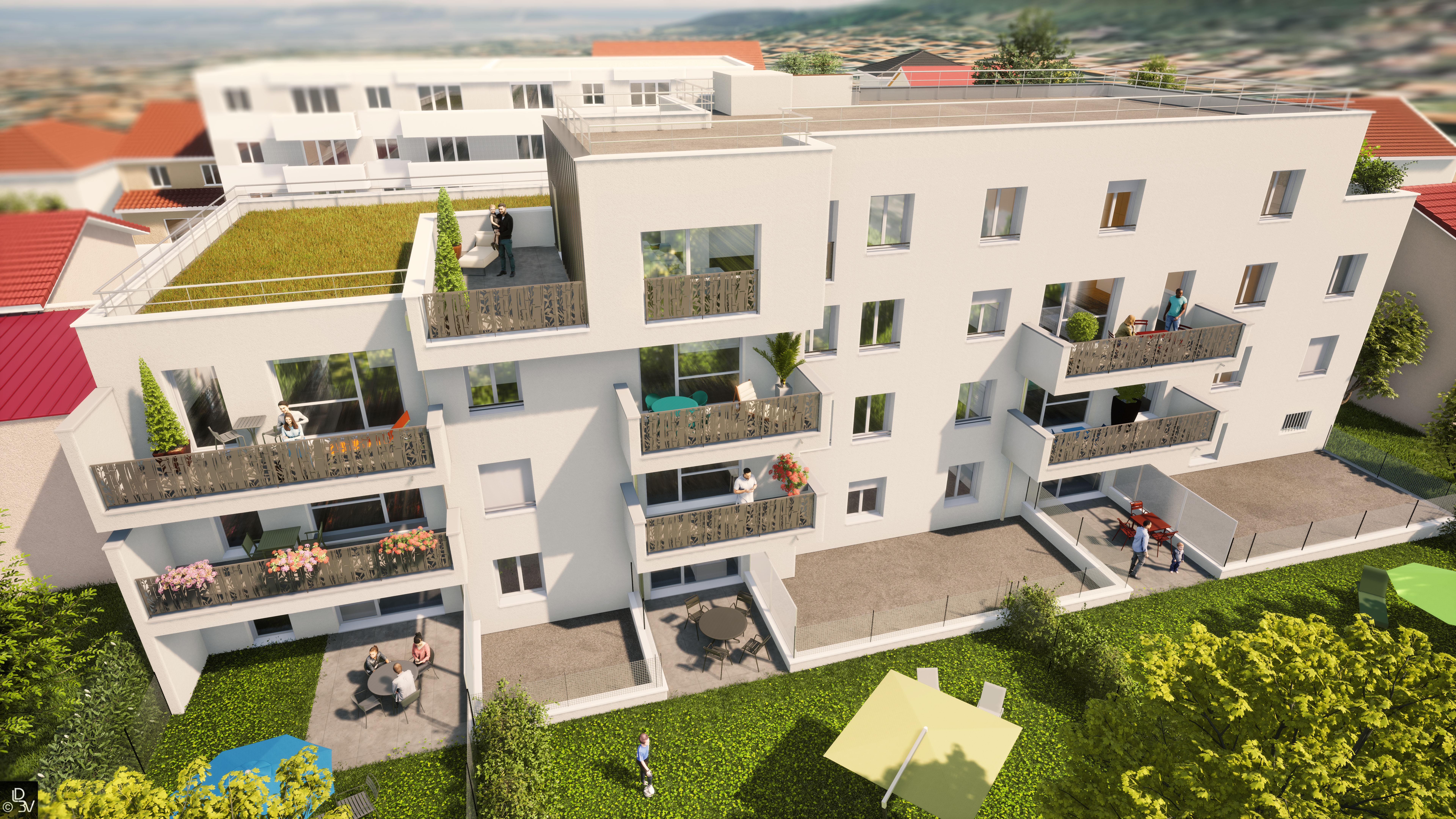 ** VILLA GARANCE ** La nouvelle résidence à découvrir au cœur d'AUBIERE … Et si votre futur appartement neuf se trouvait ici !